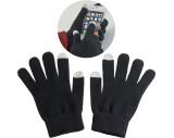 Handschuhe aus Acryl mit 2 Touch-Spitzen